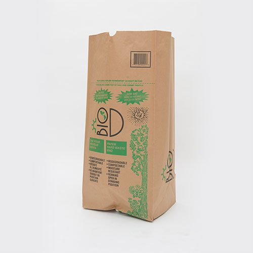 Biodegradable lawn & garden waste bag