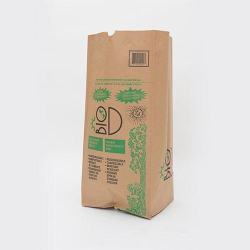 biodegradable lawn  u0026 garden waste bag - gelpac